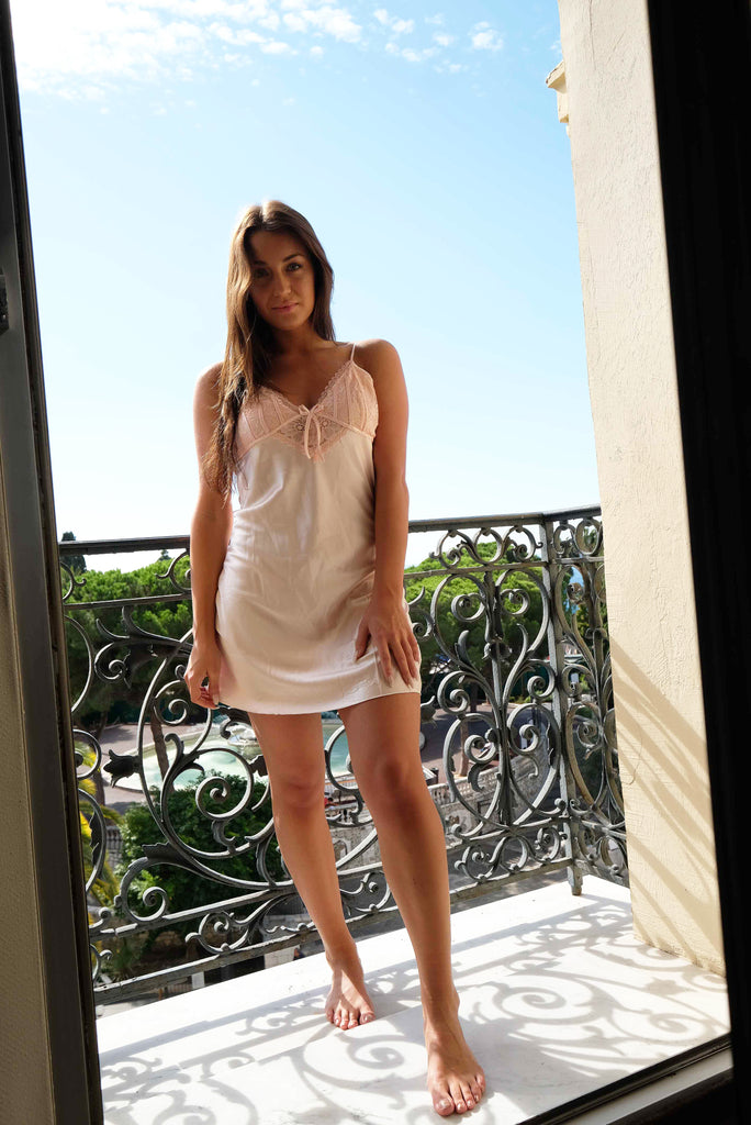 Donna Silk Nightdress