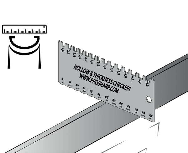 Hollow & Blade Thickness Checker