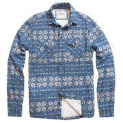 Men's High Sierra Shirt - Fair Isle Flurry Light Indigo