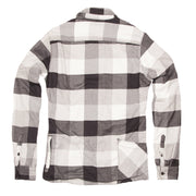 Men's High Sierra Flannel Shirt - Double Diamond Check - California Cowboy
