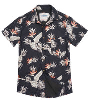 Shop For High Water Shirt For Men - Bird of Paradise Black Sand - California Cowboy