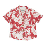 Women's High Water Shirt - Botany Bay, Tamarama Red
