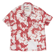 Men's High Water Shirt - Botany Bay Floral, Tamarama Red