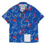 Men's High Water Shirt - Riviera Flora, Playa Azul