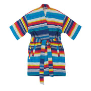 Women's La Sirena Robe - Escondido Stripe, Alebrijes