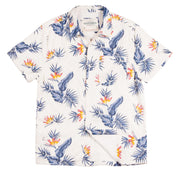Shop for Men's High Water Hawaiian Shirt - Bird of Paradise White Sand - California Cowboy