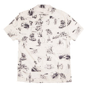 Men's High Water Shirt - California Dreamin' White Sand