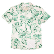 Men's High Water Shirt - Monstera Palm (New Fit!) - California Cowboy