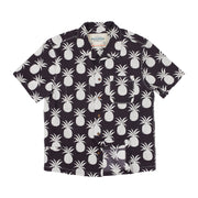 Men's Tropic High Water Shirt - Piña Paradise, Midnight Navy