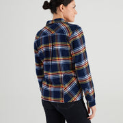 High Sierra Flannel Shirt With Hidden Beer Pocket - Daffy Plaid - California Cowboy