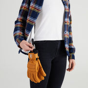 Women's  High Sierra Shirt - Gloves Loop - Daffy Plaid - California Cowboy