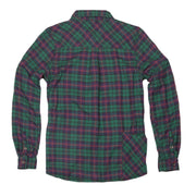 Women's High Sierra Flannel Shirt - Red Fir Pine Plaid - California Cowboy