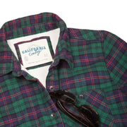 Women's High Sierra Shirt - Red Fir Pine Plaid - California Cowboy