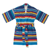 Men's El Garibaldi Robe - Escondido Stripe, Alebrijes