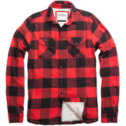 Shop For Men's High Sierra Shirt - Red Ember Check - California Cowboy