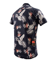Men's  High Water Shirt - Bird of Paradise Black Sand - California Cowboy