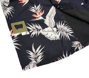 High Water Shirt With Bottle Opener - Bird of Paradise Black Sand - California Cowboy