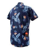 Men's High Water Hawaiian Shirt - Bird of Paradise Farallon Navy - California Cowboy