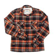 Shop Bonfire Plaid High Sierra Flannel Shirt For Men - California Cowboy