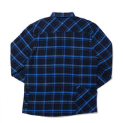 High Sierra Flannel Shirt With Hidden Pockets - Solstice Plaid - California Cowboy