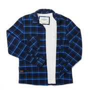 High Sierra Flannel Shirt for Men - Solstice Plaid - California Cowboy