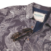 Men's High Water Shirt - Cockatiels and Dreams, Washed Navy