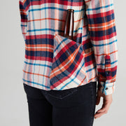 Women's High Sierra Shirt With Hidden Beer Pocket - Sonoma Plaid - California Cowboy