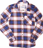 Women's High Sierra Shirt - Shasta Plaid - California Cowboy