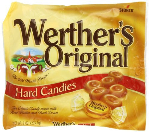 Werther's Hard Candy, Original, 9 Ounce