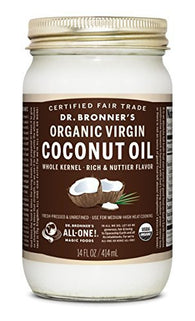 Dr. Bronner's - Fair Trade & Organic Fresh-Pressed Virgin Coconut Oil