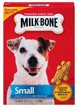 Milk-Bone Traditional Bone Shaped Biscuits (Small) For Dogs, 24 oz