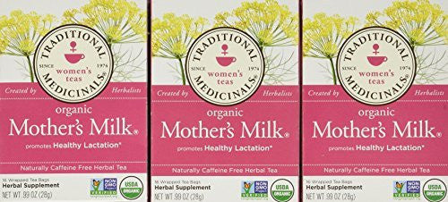 Traditional Medicinals Teas Organic Mother's Milk Tea Bags