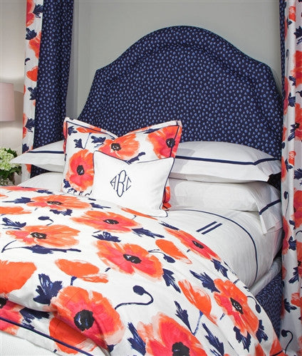 Legacy Amapola Linens in Maraschino or Cornflower - LIFE MODERNE