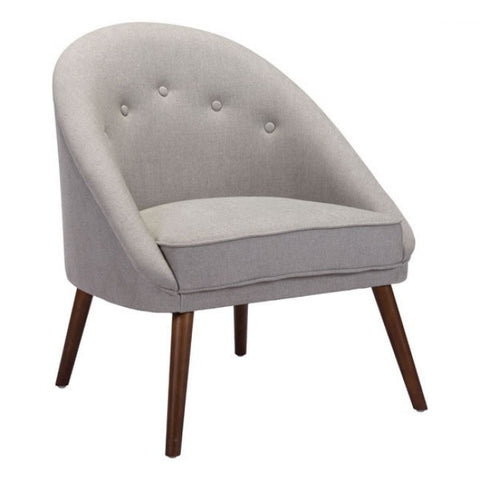 Carter Occasional Chair | Light Grey