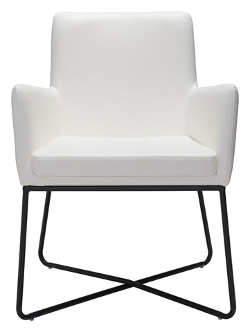 Axel Lounge Chair in White
