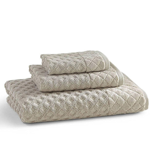Diamant Towels S/3 | Marble Tan