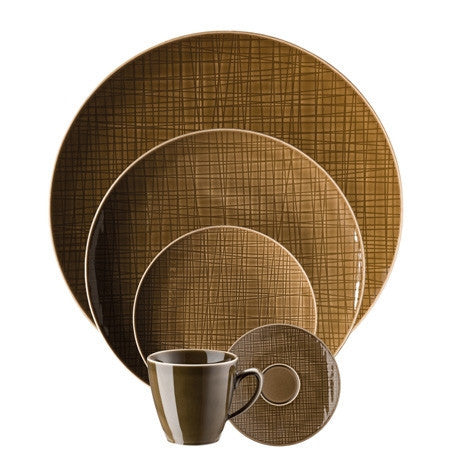 Rosenthal Classic Mesh Walnut 5 Piece Place Setting (5 pps) - LIFE MODERNE