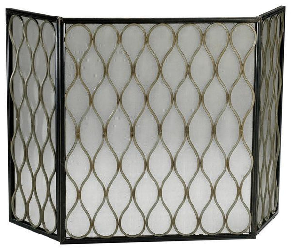 Cyan Design Gold Mesh Fire Screen - GDH | The decorators department Store