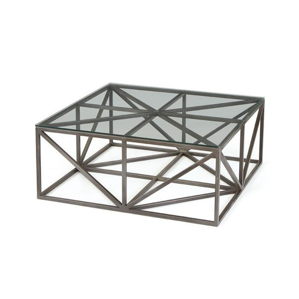 Hanover Glass Coffee Table - LIFE MODERNE
