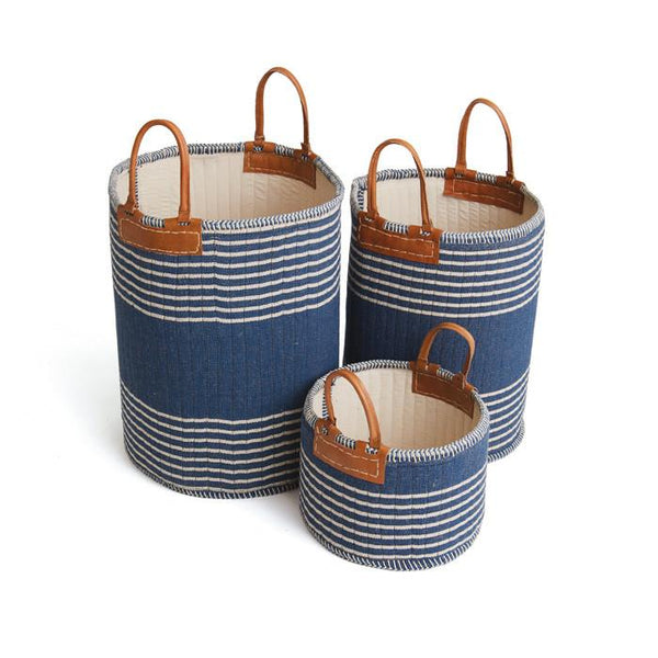 Set of Three Schumer Baskets - GDH | The decorators department Store