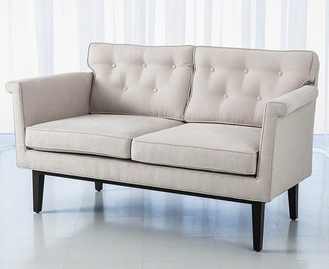 Emerywood Loveseat | Global Views - LIFE MODERNE