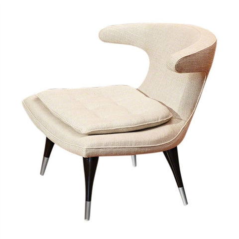 Anvil Lounge Chair Windsor Woven Ecru - LIFE MODERNE
