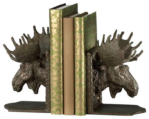 Moosehead Bookends - GDH | The decorators department Store