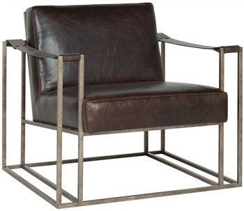Dekker Leather Occasional Chair - LIFE MODERNE