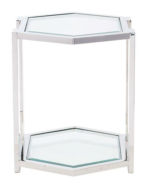 Allegra Metal End Table