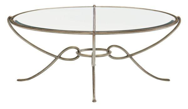 Bonita Round Metal Cocktail Table