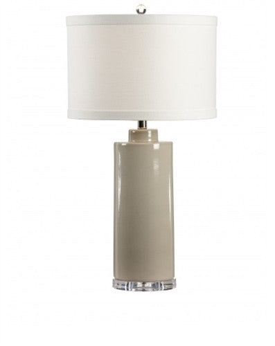 Edith Table Lamp in Stone Grey - LIFE MODERNE