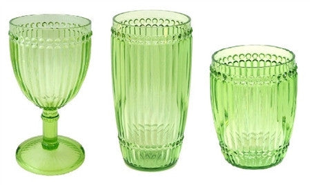 Milano Outdoor Drinkware - Light Green - Set of 6 - LIFE MODERNE - 1
