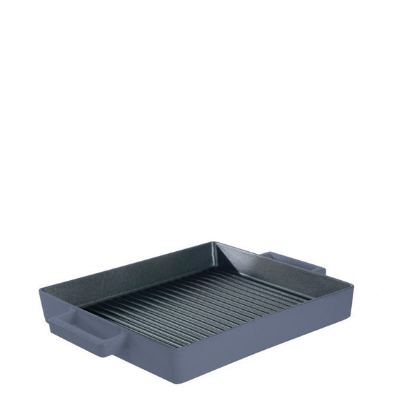 Terra Cotto Cast Iron Square Grill Pan | Myrtle - LIFE MODERNE