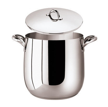 Kikka Stock pot, 2 handles and  Lid, 9 1/2 x 9 5/8 inch, 371 ounce - LIFE MODERNE